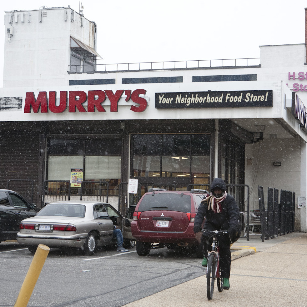Murry's grocery store has anchored H Street Northeast for decades. Soon, the store will be replaced by a Whole Foods market and an apartment complex.