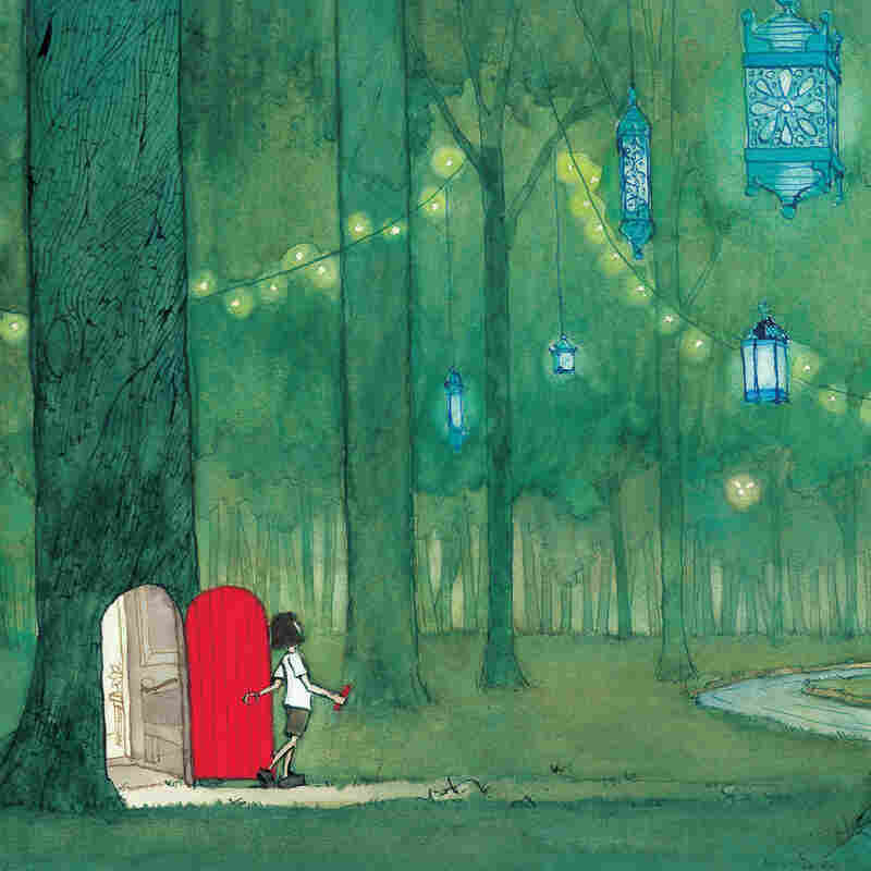 Journey. Copyright 2013 by Aaron Becker. Reproduced by permission of the publisher, Candlewick Press, Somerville, Mass.