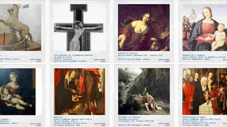 In a program called L'Arte Auita L'Arte (Art Helping Art) Italy's Ministry of Heritage and Culture and Tourism posted works of art in need of restoration on Facebook. The public was asked to vote for the art it felt was most deserving of a fix-up.