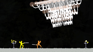 Nidhogg is a fast-paced sword fighting game that pits two players in an intense, steel-on-steel battle of tug-of-war that harkens back to the old days of arcade battles.