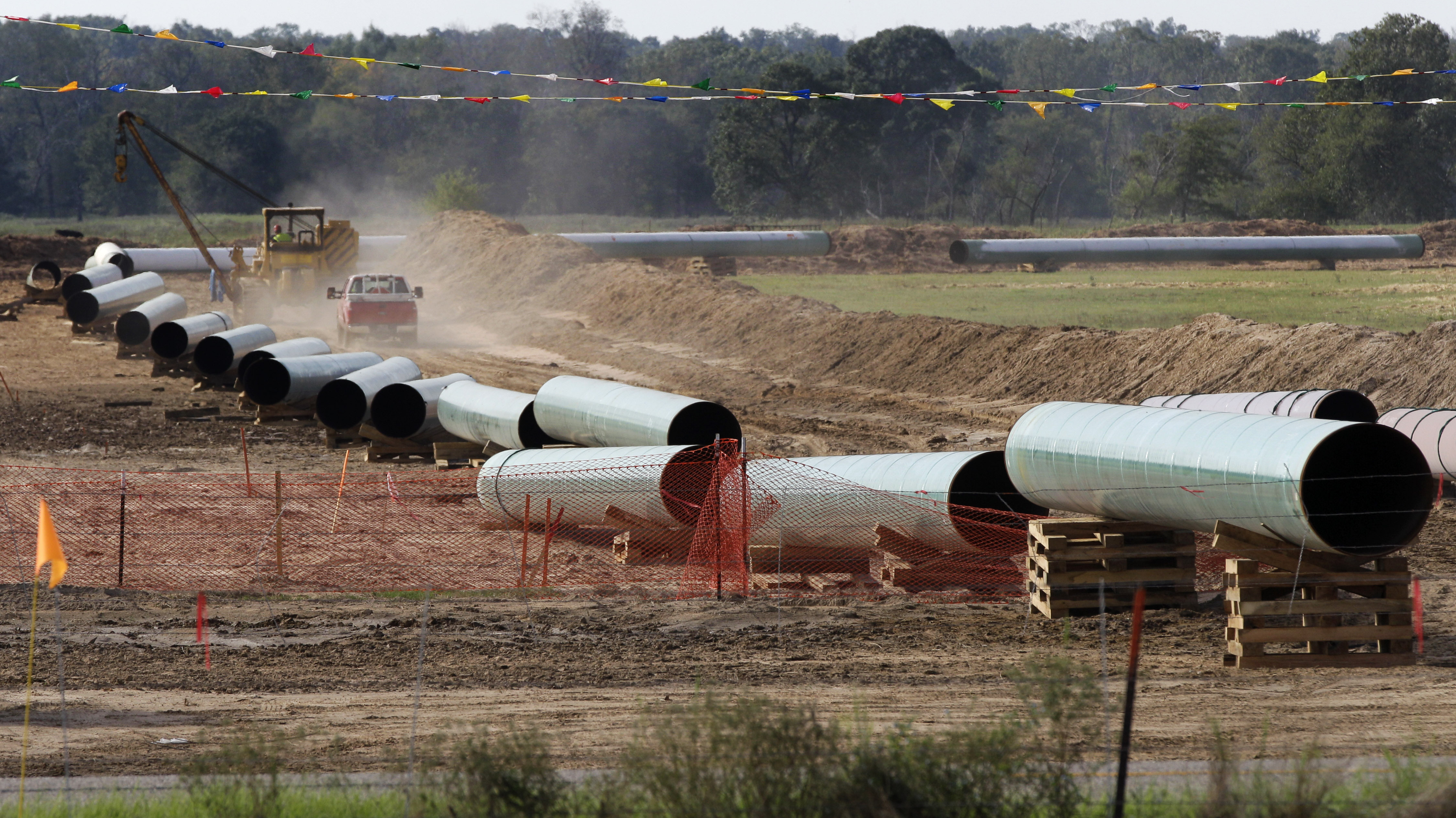 Keystone Pipeline's Southern Section Begins Delivering Oil To Gulf Coast