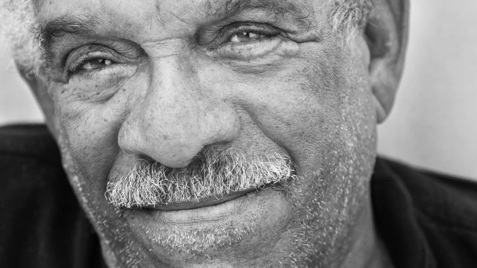"Derek Walcott received the 1992 Nobel Prize in literature. The committee lauded his ""poetic oeuvre of great luminosity, sustained by a historical vision."" (Courtesy of Farrar, Straus and Giroux)"