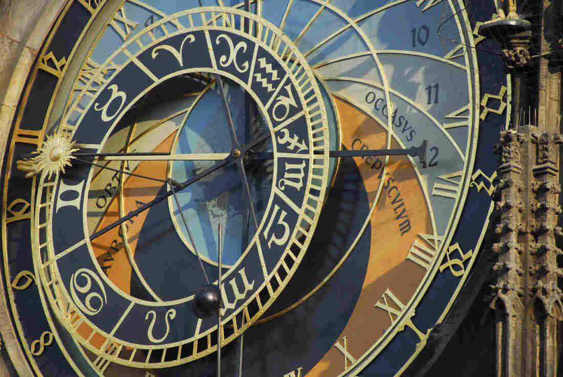 The Prague astronomical clock, or Prague orloj.