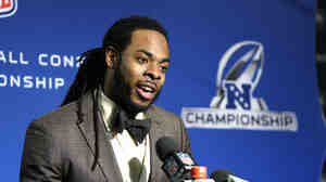 Richard Sherman off the football field.