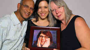 Lionel D'Luna, daughter Adrienne and wife Debra remember their daughter and sister Alexis, who died in 2012 of complications from CHARGE syndrome.