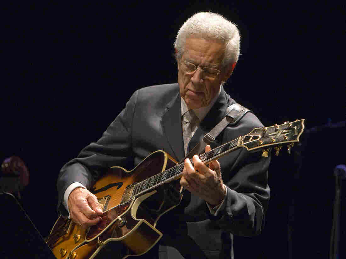 Kenny Burrell performs at his 80th birthday concert in 2011.