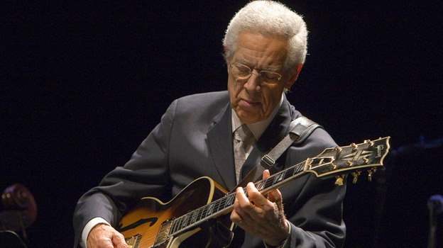 Kenny Burrell performs at his 80th birthday concert in 2011. (UCLA)