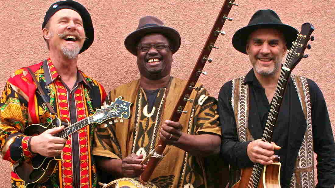 Joe Craven with Mamadou Sidibe and Walter Strauss.