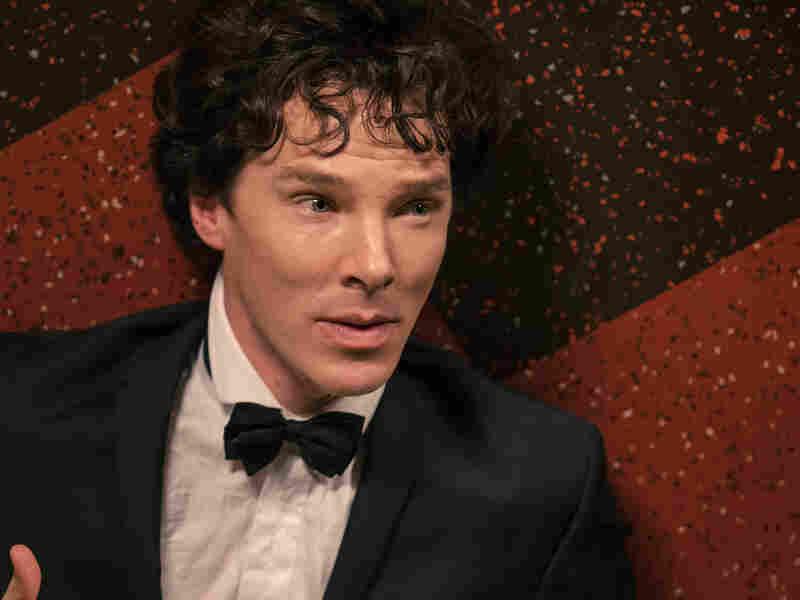 "Benedict Cumberbatch in ""The Empty Hearse."""