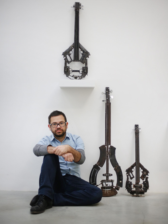 Artist Transforms Guns To Make Music — Literally