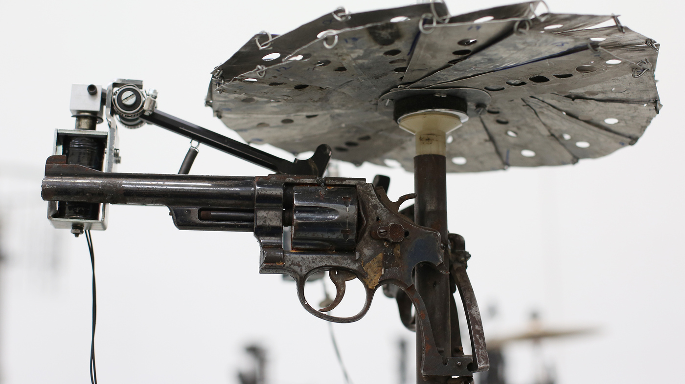 Car Talk Podcast >> Artist Transforms Guns To Make Music — Literally : NPR