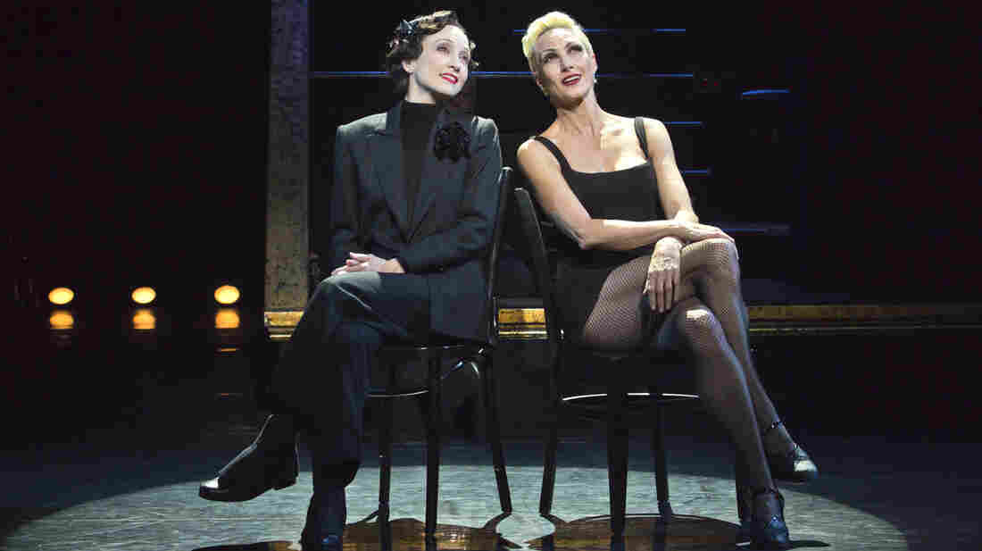 Taking on her third role in the long-running revival of the musical Chicago, Bebe Neuwirth (left) plays prison matron Mama Morton. Amra-Faye Wright currently plays Velma Kelly — the part for which Neuwirth won a Tony Award in 1997.