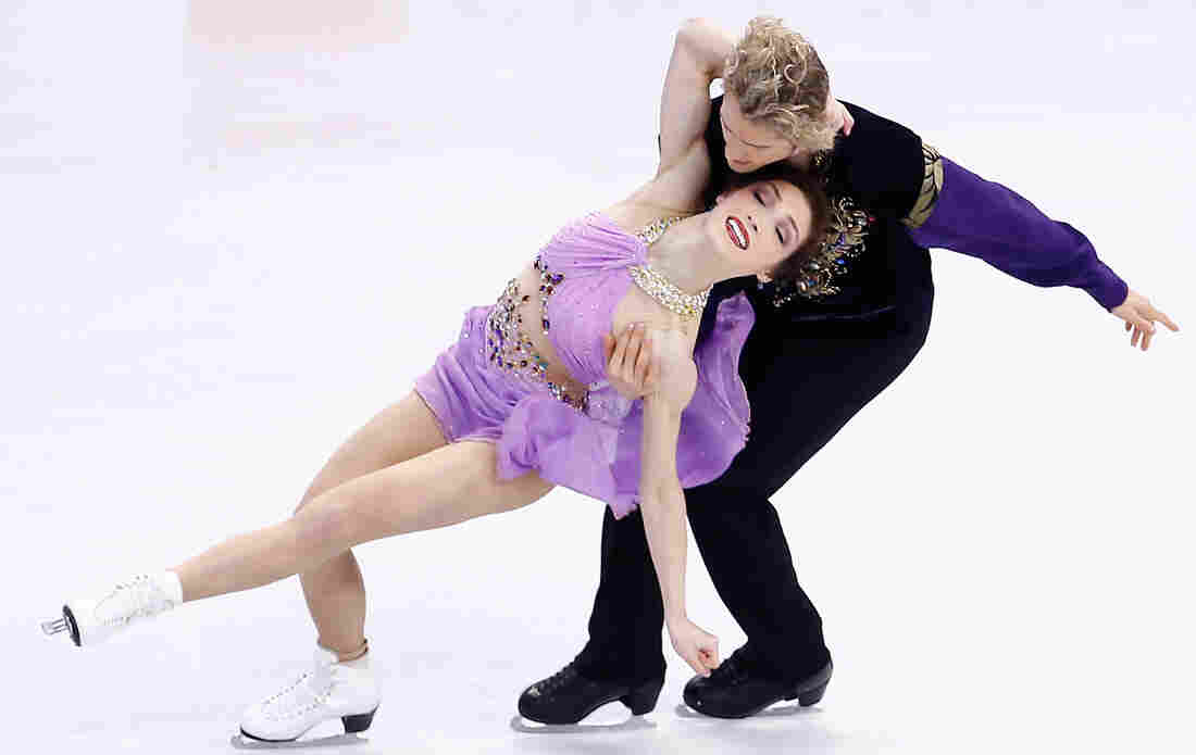 Meryl Davis and Charlie White compete in the 2014 Prudential U.S. Figure Skating Championships in Boston earlier this month.
