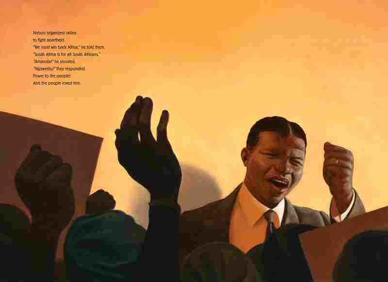 Excerpted from Nelson Mandela by Kadir Nelson. Copyright 2013 by Kadir Nelson. Excerpted by permission of HarperCollins Children's Books.