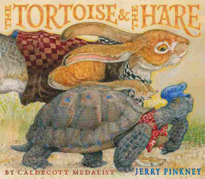 Excerpted from The Tortoise & The Hare by Jerry Pinkney. Copyright 2013 by Pinkney. Excerpted by permission of Little, Brown Books for Young Readers.