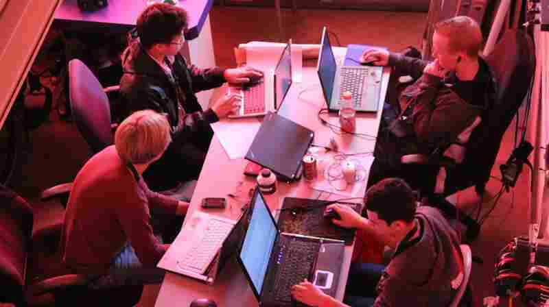 A group called StudentRND throws 24-hour code-a-thons for programmers of all backgrounds and skill levels. Coders show up at noon on Saturday, pitch ideas, form teams and code through the night trying to finish by noon on Sunday. Above, StudentRND participants work at a 2011 CodeDay in Seattle.