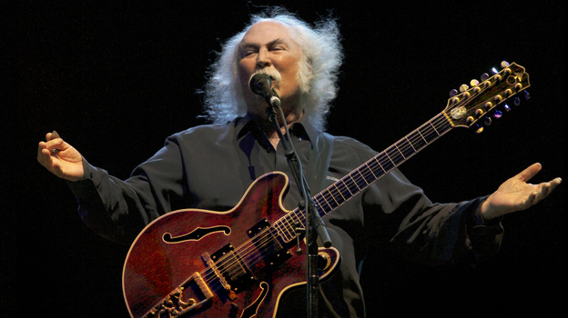 David Crosby's new solo album, his first such release in two decades, is called Croz. (Courtesy of the artist)