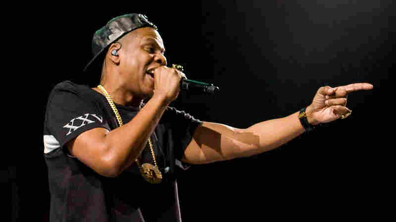 Jay-Z performs during his Magna Carta World Tour at Connecticut's Mohegan Sun Arena earlier this month. Jay Z has nine nominations at this year's Grammys.
