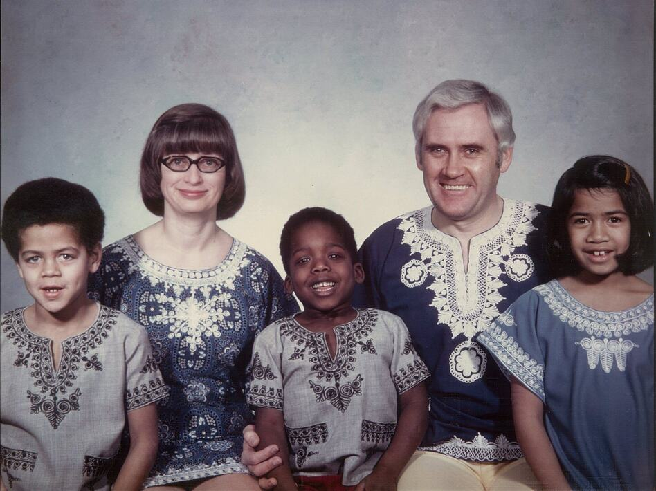 Chad Goller-Sojourner (center) and his family. (Courtesy Chad Goller-Sojourner)