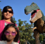 Will the distant future give rise to exhibits of a human past long gone, much as we gawk today at representations of a dinosaur age we can only imagine?