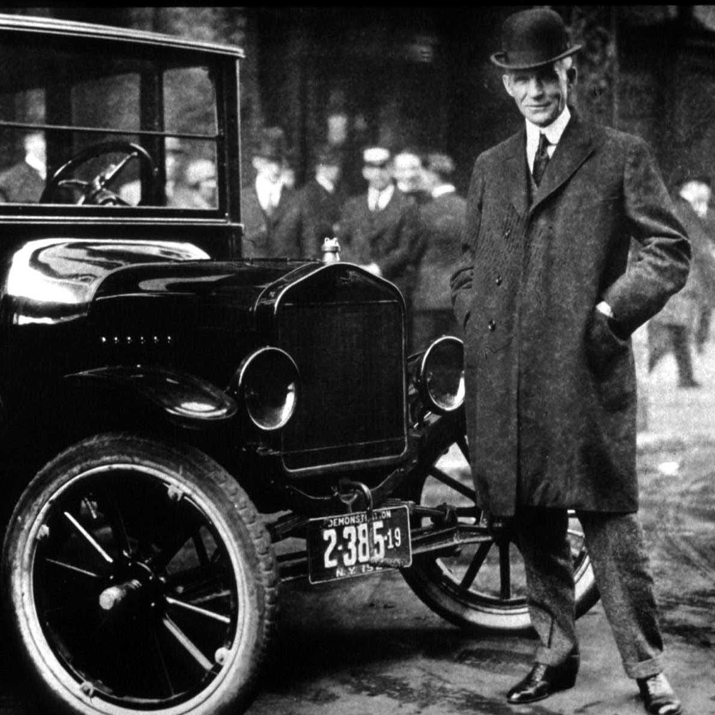 Henry Ford may have paid his workers a good wage, but it wasn't out of charity -- it was a good business decision that some say helped the middle class take off.