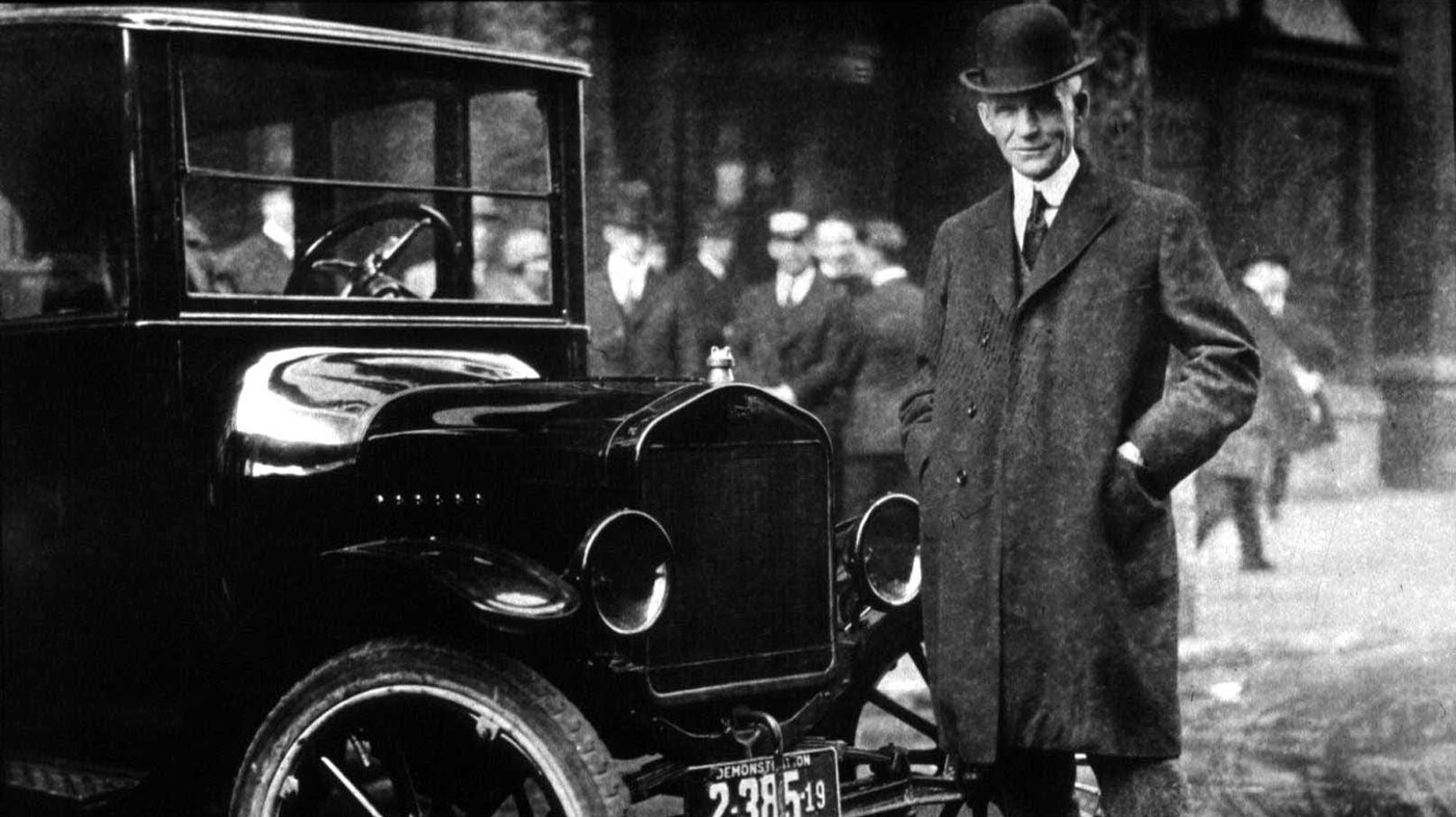 The Middle Class Took Off 100 Years Ago ... Thanks To Henry Ford? : NPR