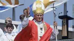 Pope John Paul II in 1982
