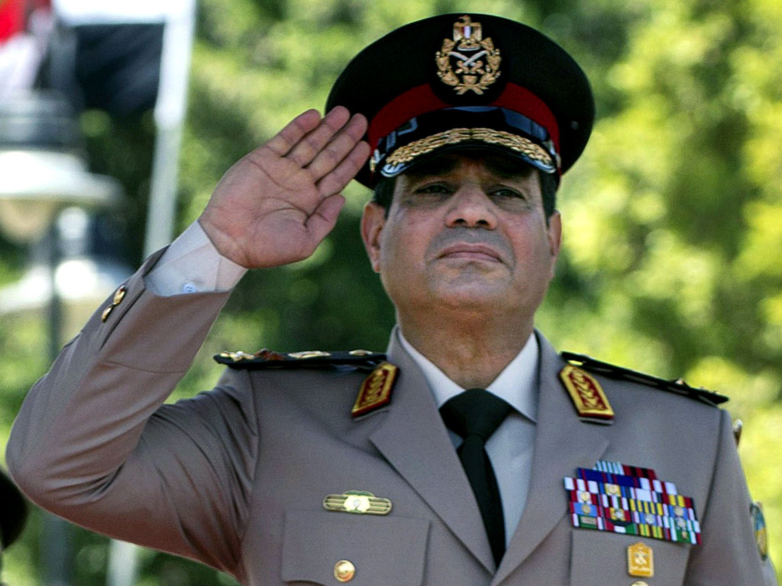 Egypt's El-Sissi Promoted, Military Says He Should Run For President
