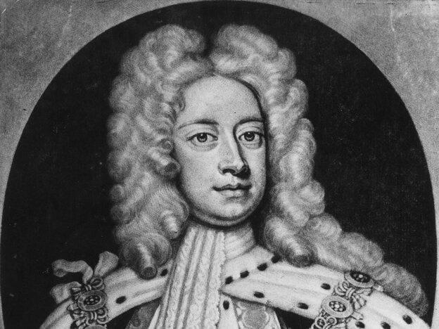 Britain's King George II: Snazzy dresser, adventurous eater.