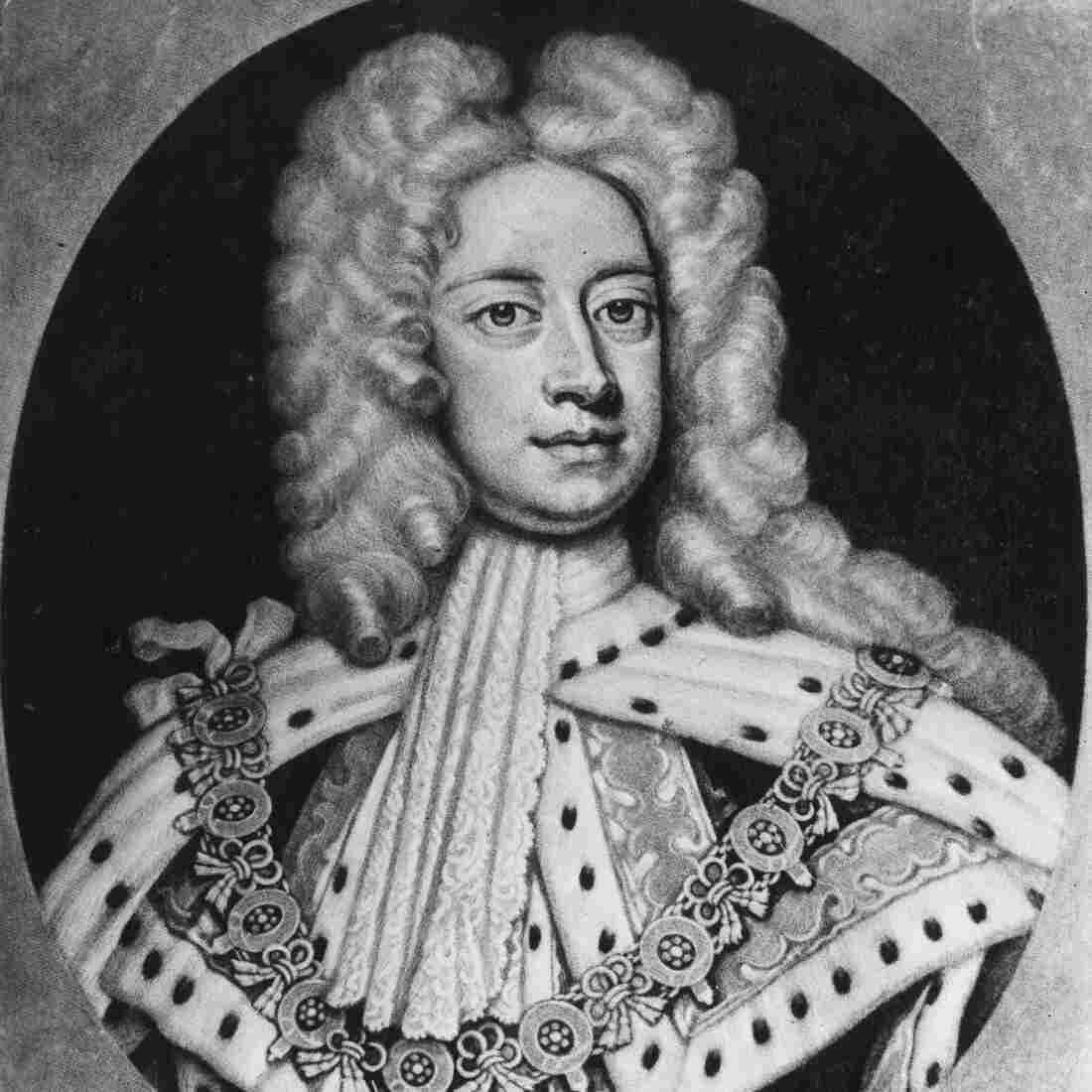 Britain's King George II: Snazzy dresser, adventurous eater.