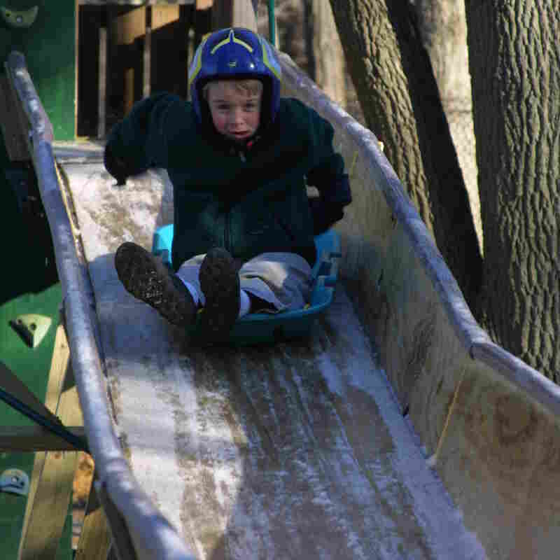 A Homemade Wooden Luge Track Launches Teen To Sochi