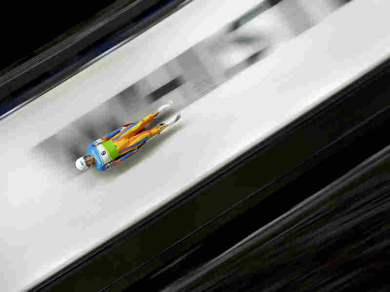West took 11th place at the Luge World Cup in Whistler, British Columbia, in December.