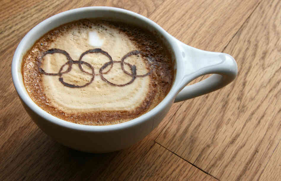 Jessica Lutz is heading to the Winter Olympics from her job at a coffee shop in Washington. Recently, her fellow baristas made a latte in her honor.