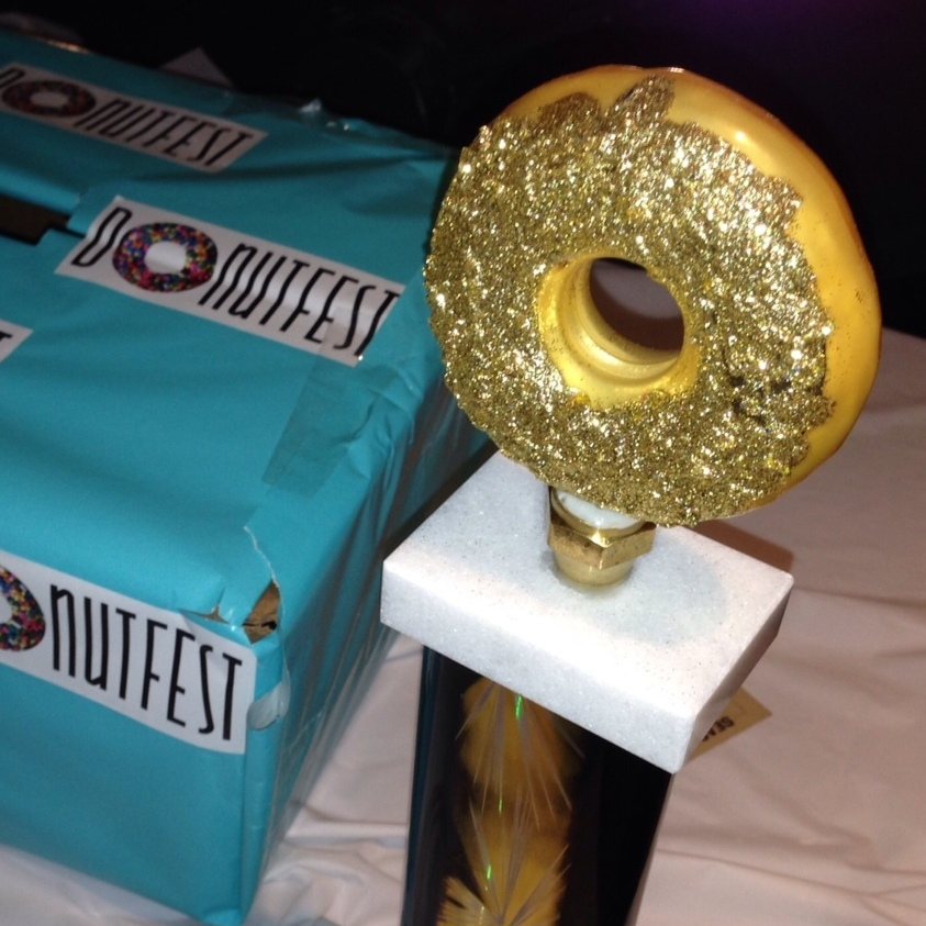 The doughscuit won the critic's choice award at Donut Fest.