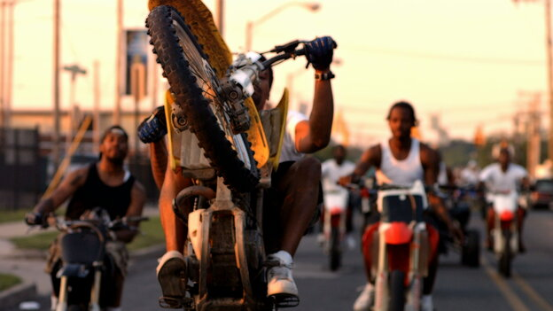 The Kickstarter-funded 12 O'Clock Boys, director Lotfy Nathan's first film, examines whether dirt bikes keep kids from joining gangs or if they just invent new problems for urban Baltimore.