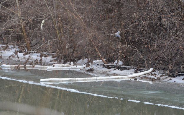 The banks of the Elk River