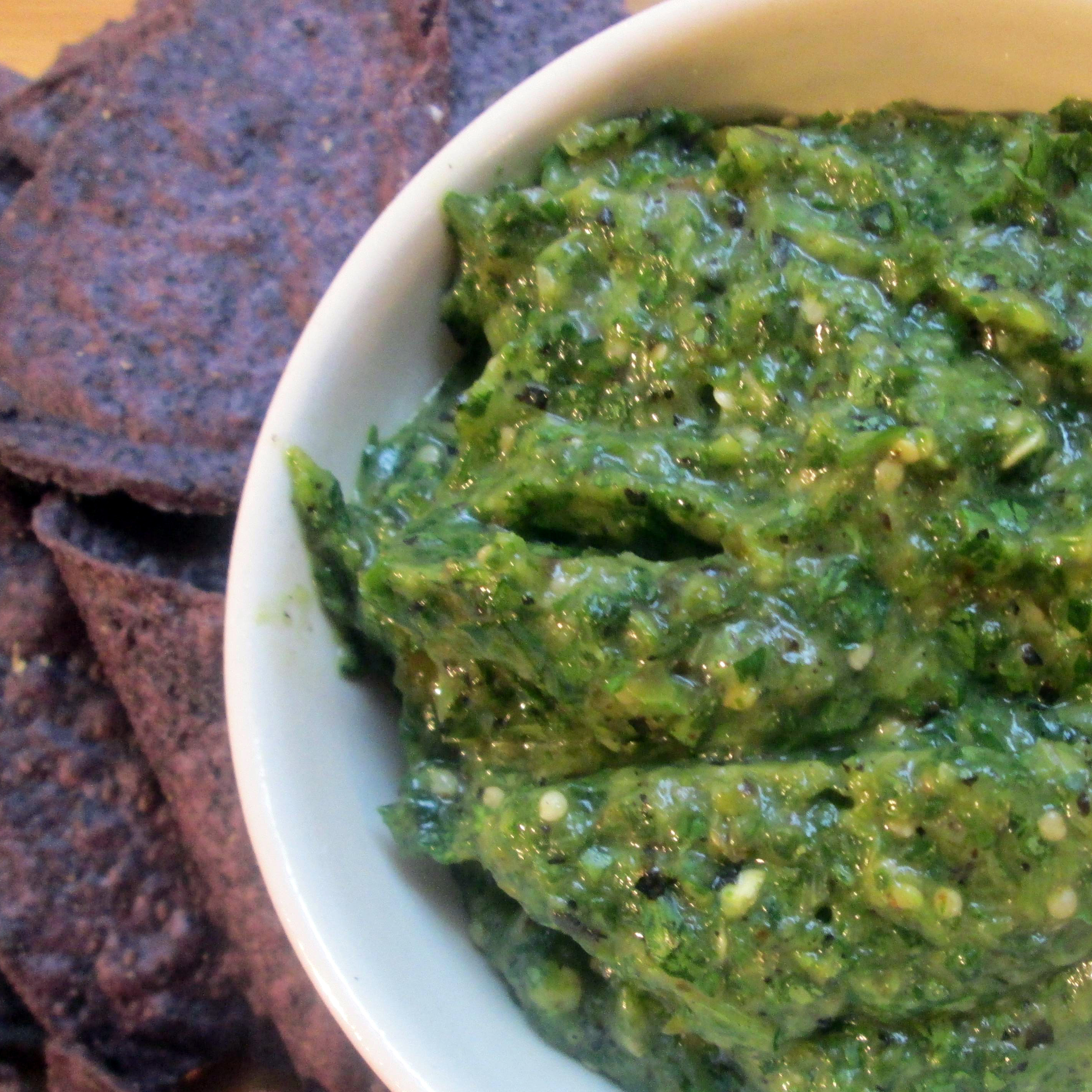 Salsa Verde With Roasted Tomatillos