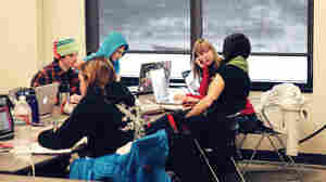 High Schoolers Hit The Slopes, And The Books, At Team Academy