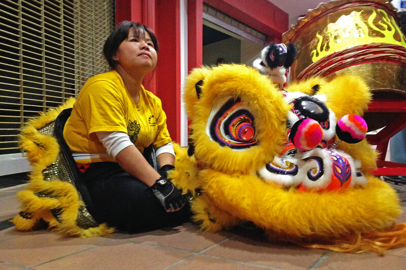 Still Turning Heads' At Lunar New Year, An All-Female Lion