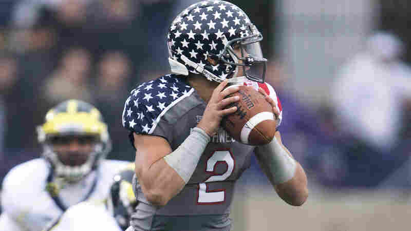Northwestern quarterback Kain Colter, who finished his college career last season, is the spokesman for the players' effort to unionize.