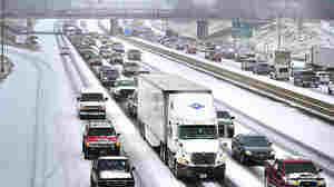 'Rush Hour From Hell' Drags On In Icy Southern Cities
