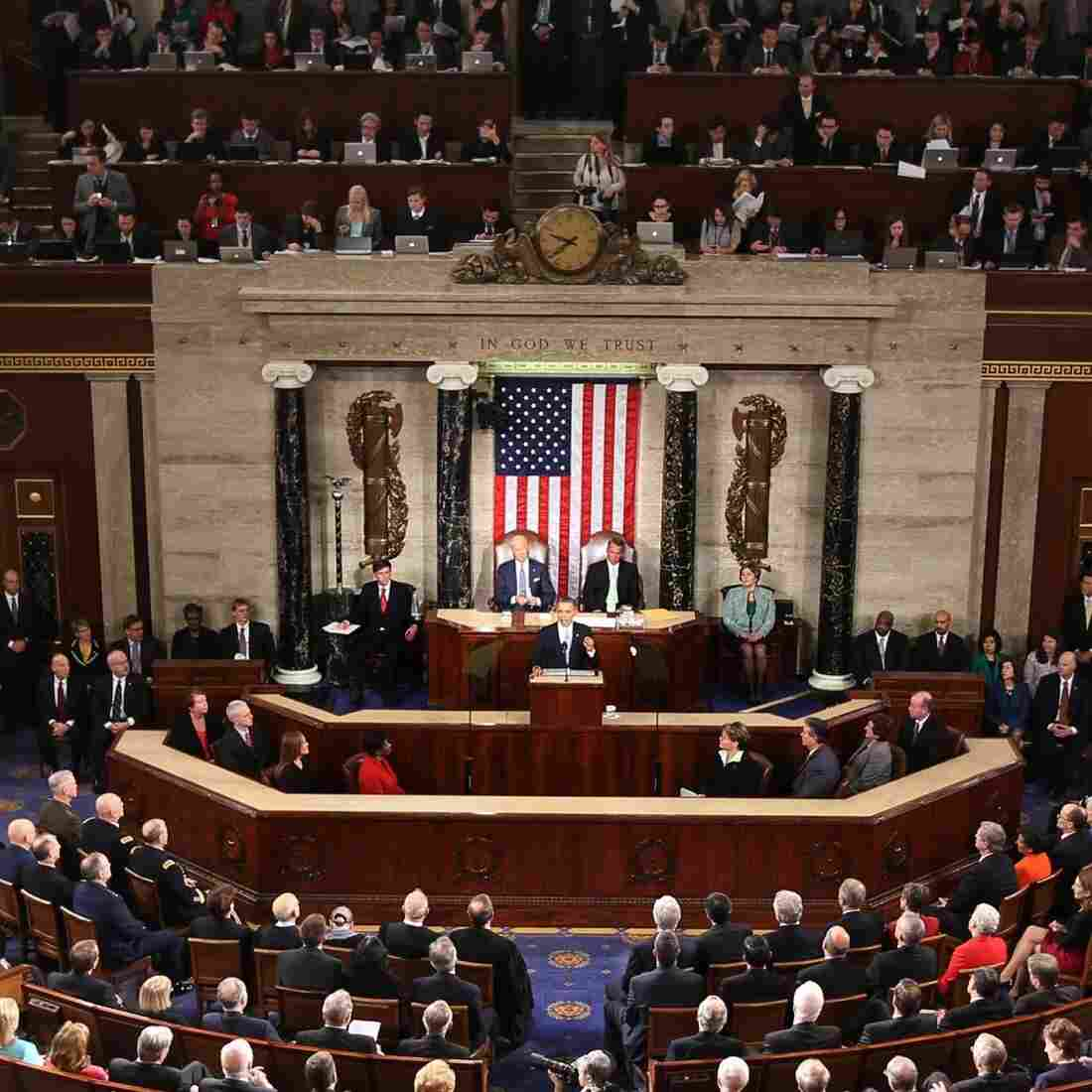President Obama delivers his State of the Union address before a joint session of Congress on Tuesday.