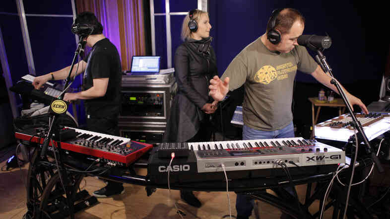 The Crystal Method performed live on KCRW's Morning Becomes Eclectic.