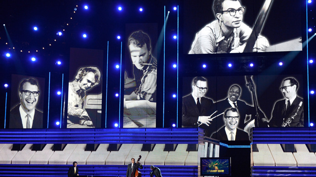 Dave Brubeck received a posthumous tribute at the 2013 Grammy Awards. (Getty Images)