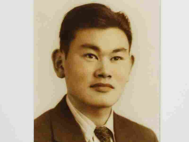 A portrait of Fred Korematsu presented at the National Portrait Gallery in Washington, D.C.
