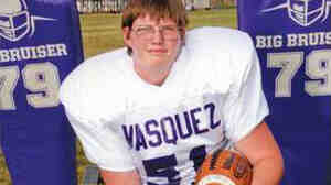 Jeremiah Lasater committed suicide in high school after years of bullying. He played for the Vasquez High football team in Acton, Calif.