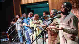 "Ladysmith Black Mambazo performs ""Homeless."""
