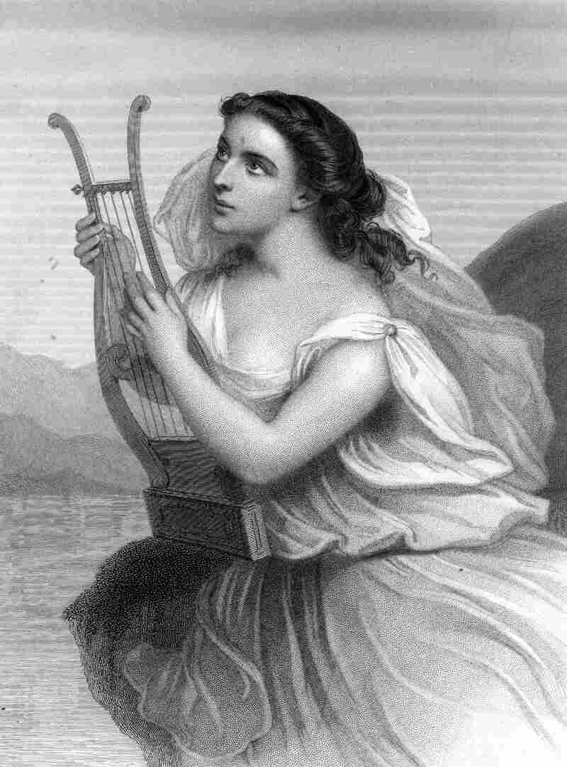 An image of the ancient Greek poet Sappho.