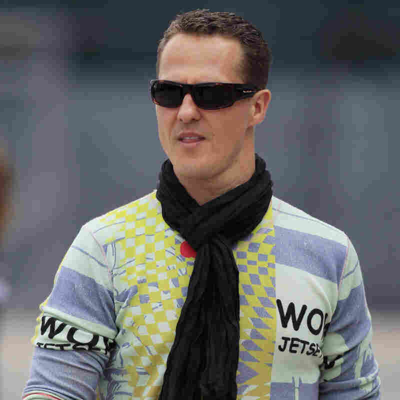 Michael Schumacher in April 2012.