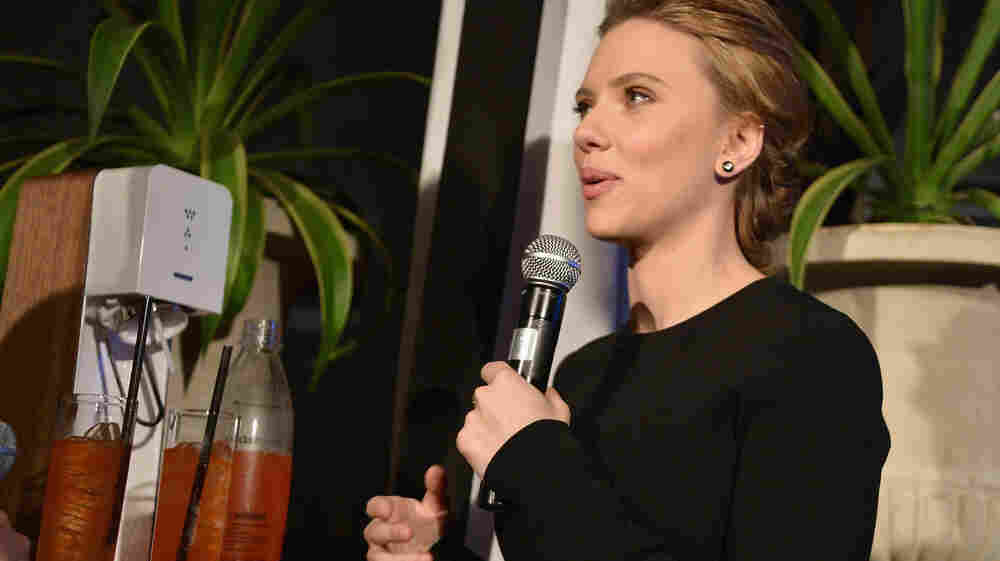 Scarlett Johansson's Middle East Flap ... Over Soda